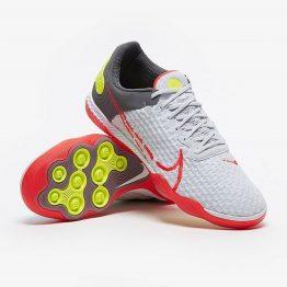 Nike React Gato IC - Xám/Đỏ - Giày đá banh Nike chính hãng